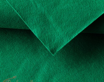 0.5mm Felt sheet 200x300mm - green - HB-P100-448