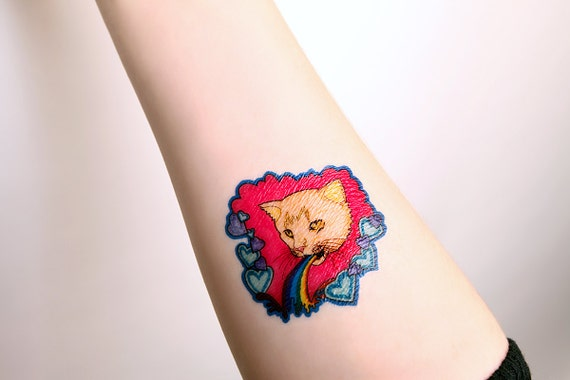 2 pastel goth temporary tattoo mon mon mo temp by theritzymeow for Pastel goth tattoos