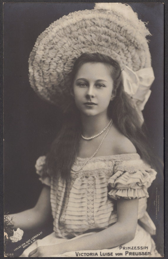 princess viktoria luise of prussia circa 1908. Black Bedroom Furniture Sets. Home Design Ideas