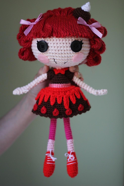 Amigurumi Clothes Pattern : PATTERN: Choco Crochet Amigurumi Doll