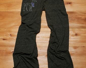 the dapper Greyhound Pants, Lounge Pants, Yoga Pants, Italian Greyhound