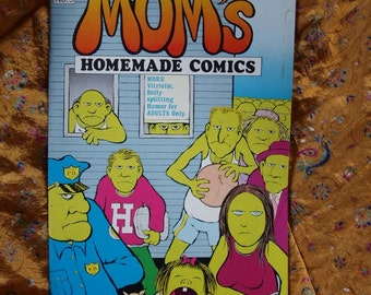 Mom's Homemade Comics No 3 1971 Crumb Denis Kitchen Williamson Pugh Mitchell Kupers Lynch Underground Comix