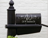 Mailbox Decal - Small Decal - Name Wall Decal - Personalized Mailbox Decal - Personalized Decals