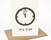 It's Time... Gin & Tonic Time -  Greeting card