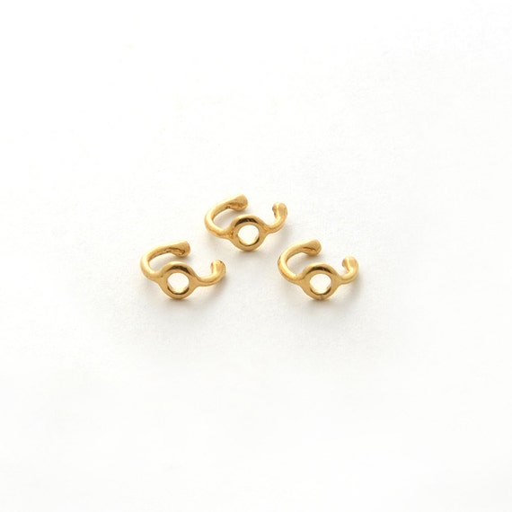 simple ear cuff gold set minimalist ear cuffs gold cartilage