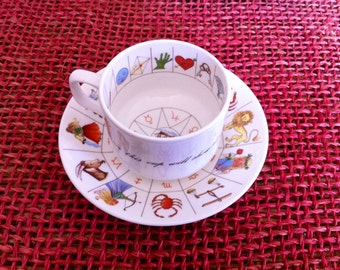 Royal Kendal Astrology, Fortune Telling,Tea Cup, Fine Bone China, Made in Staffordshire England