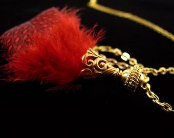 SALE Gold Vermeil Bead Cones 2 pieces  Elegant Swirls CA102