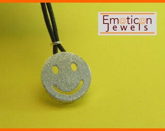 Emoticon Silver 925 pendant SMILE