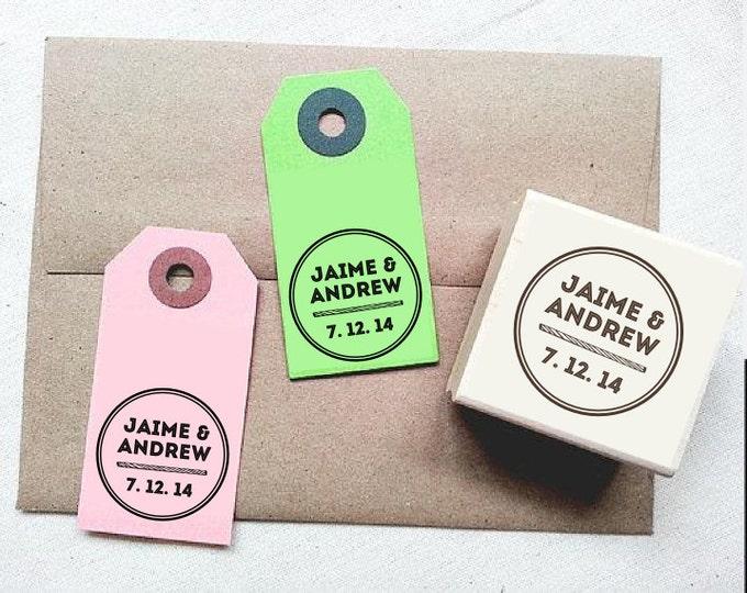 Tempahan rubber stamp wedding