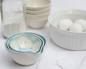 sky blue ikat nesting bowls