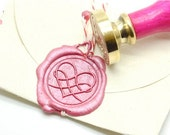 B20 Wax Seal Stamp Filigree Heart