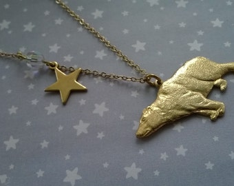 The Bear and the North Star Necklace