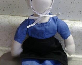 Custom made Amish Doll