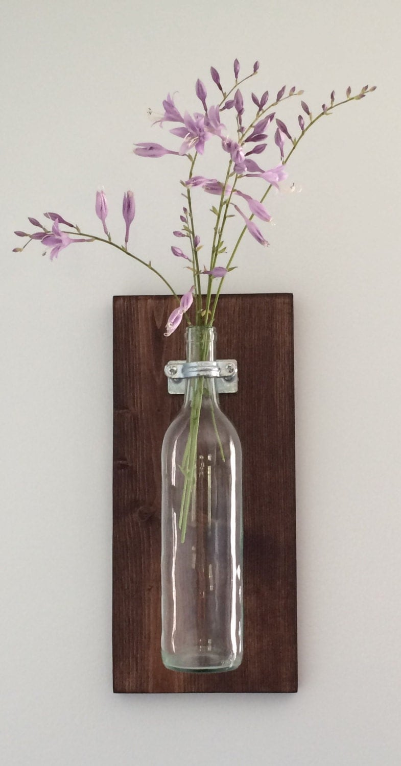 wine bottle wall decor country charm with an by