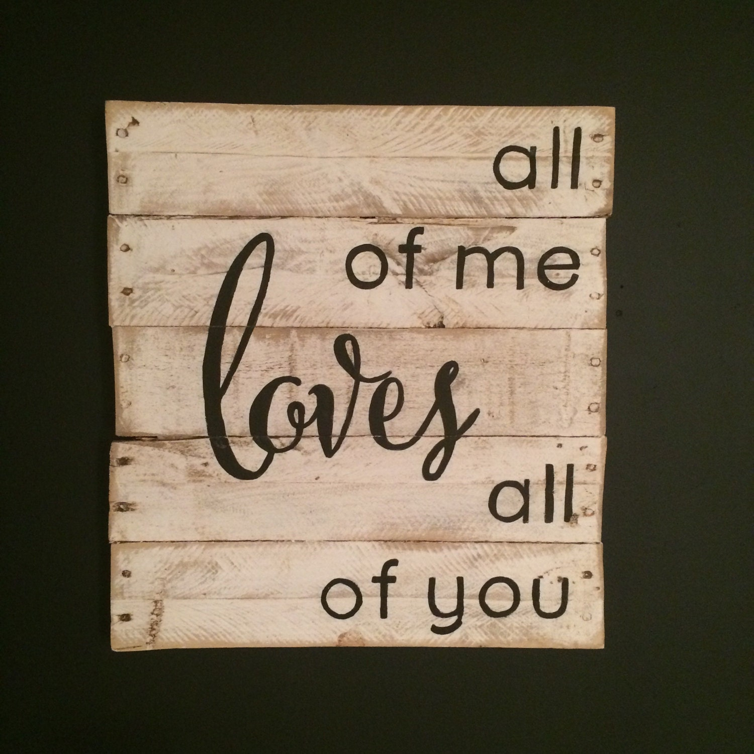 all of me loves all of you sign john legend by