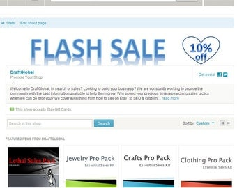 Shop SALE Banner Flash Sale Header for Discounts Attract Customers Promoting Promotional