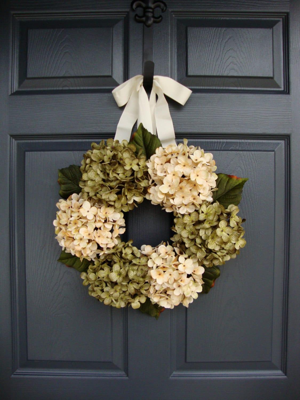 Wreaths Front Door Wreath Winter Wreath Summer Wreaths