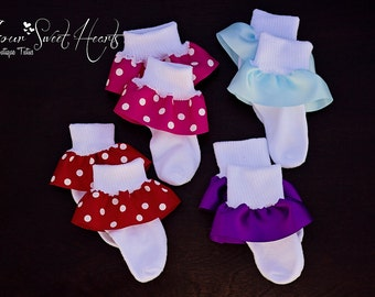 Add Made to Match Ruffle Socks to my Order
