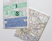 Zine - Moving East (or: how I moved across the country with a guy I just met)