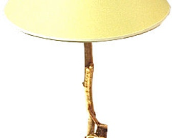 "French Table Lamp ""Naturalis"" Cast Bronze"