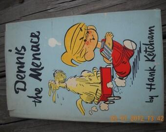 Vintage Book Dennis the Menace by Hank Ketcham 1950s comics Hardback Illustrated