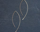Almond Wire Earrings
