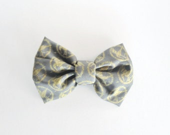 PET BOW - Hunger Games Inspired Bow Tie for Dogs or Cats // Gifts for Dogs // Dog Bow Tie // Pet Bow Tie