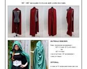 Versatile Fantasy Cape Sewing Pattern
