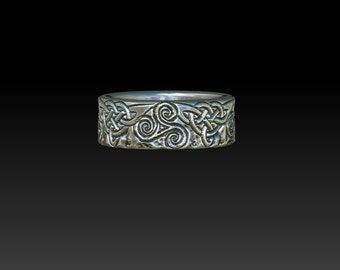 celtic ring   wedding ring  celtic jewelry celtic wedding ring mens ring  ZB17