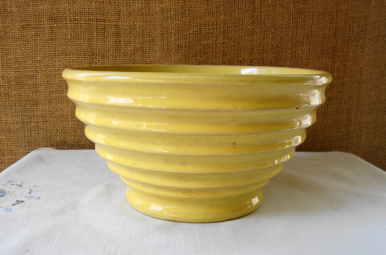 Vintage Yellow Ware - Passion Porn