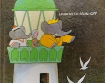 Barbar's Mystery Laurent De Brunhoff 1978 Hardcover Children's Book Wonderful Illustrations
