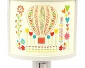 Hot Air Balloon Cute Night Light Nursery Bathroom hallway Bedroom GET IT nightlight Nite Lite