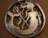 Mermaid Bronze Necklace