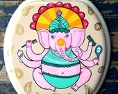 Bathroom Ganesha Toilet Seat by Debbie Is Adopted Indian Elephant Ganesh
