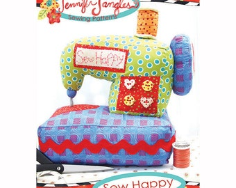 Sewing Machine Toy Pattern Sew Happy by Jennifer Jangles