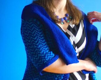Heraldry Jacket Cardigan Knitting Pattern