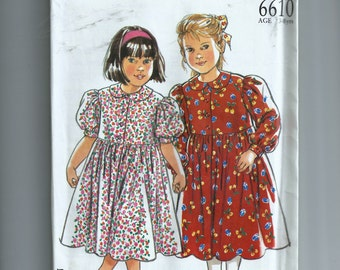 New Look  Girl Dress Patten 6610