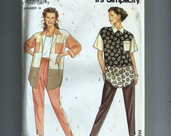 Simplicity Misses'  Shirt and Pants Pattern 7769