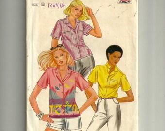 Butterick Misses' Blouse Pattern 3669