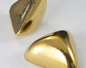 30mm Golden Triangle Cabochon (2 Pcs) #2394