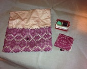 Vintage Sewing Kit and Pouch