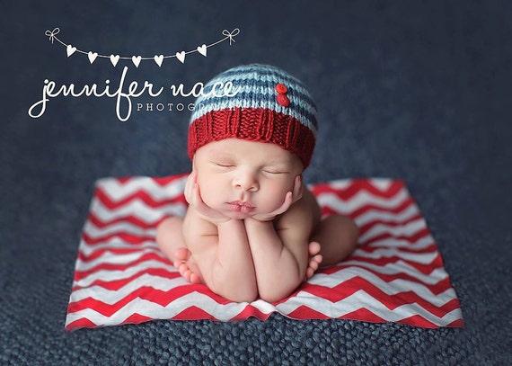 Lucas - Perfect Fit Newborn Beanie