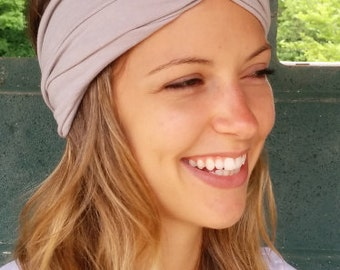turban headband // thick, soft, substantial, stretchy // super LUXE - pick a color