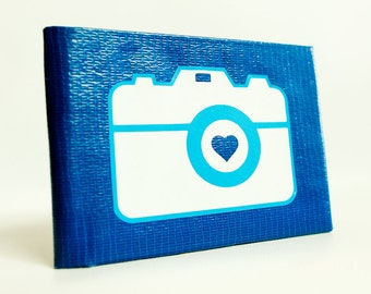 Camera Duct Tape Wallet