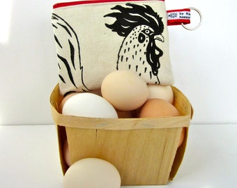 Rooster Change Purse