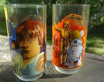 Star Wars Glasses from Burger King