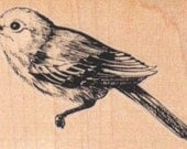 Birds  rubber stamp stamping supplies   number 9475 craft supply scrapbook facing left