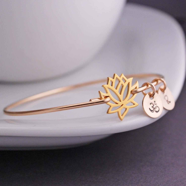 Bangle Bracelet With Charm: Chandeliers & Pendant Lights