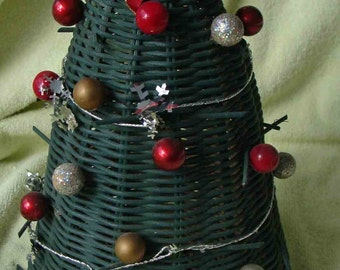 One of Kind Christmas Tree - Woven