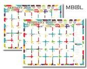 2015 Monthly Calendar - DIGITAL ONLY